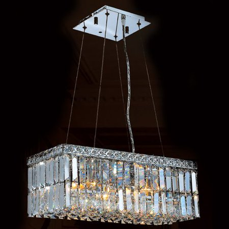 Worldwide Lighting Cascade 4-Light Kitchen Island Pendant ()