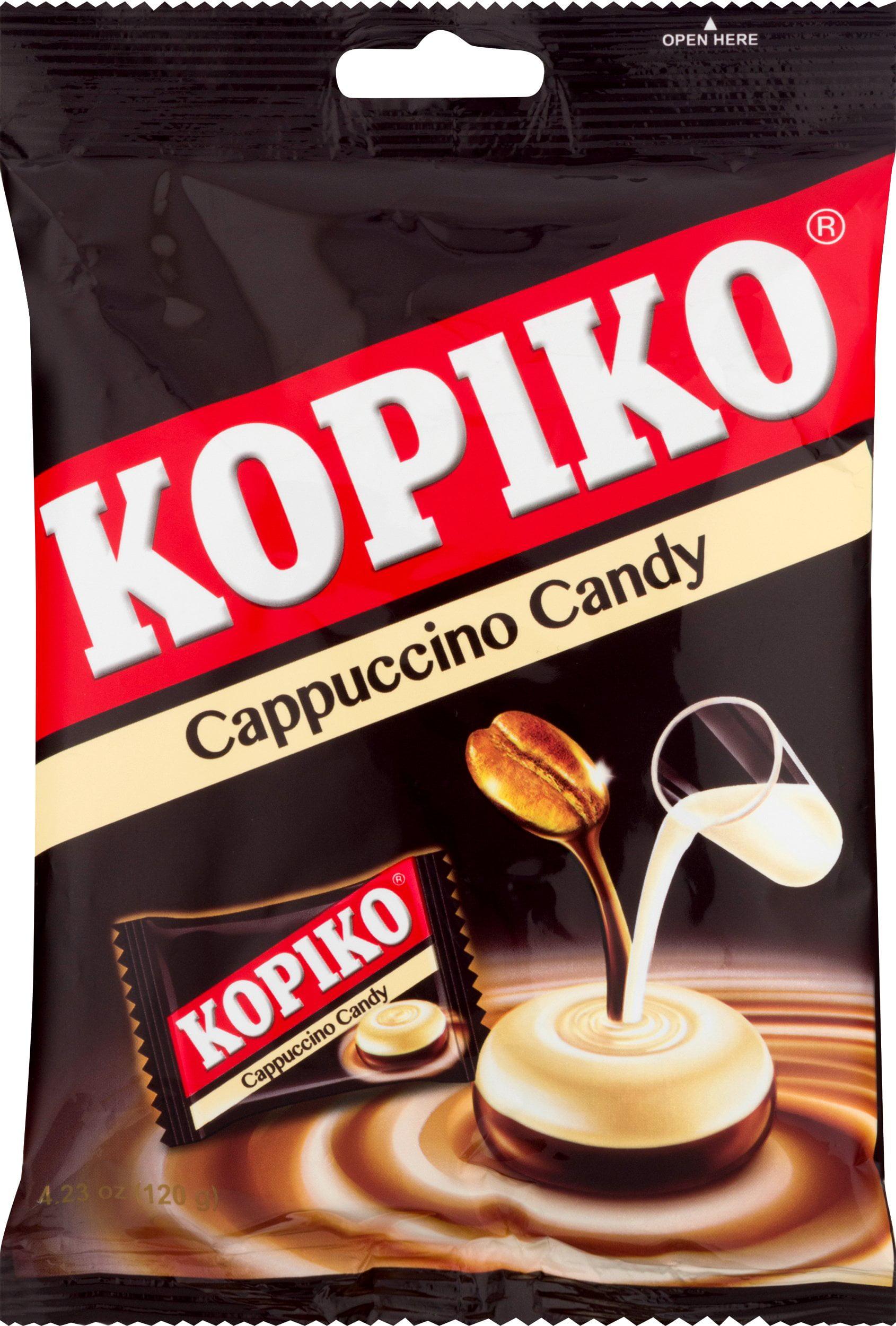 Kopiko Cappuccino Candy 4 23 Oz Walmart Com Walmart Com