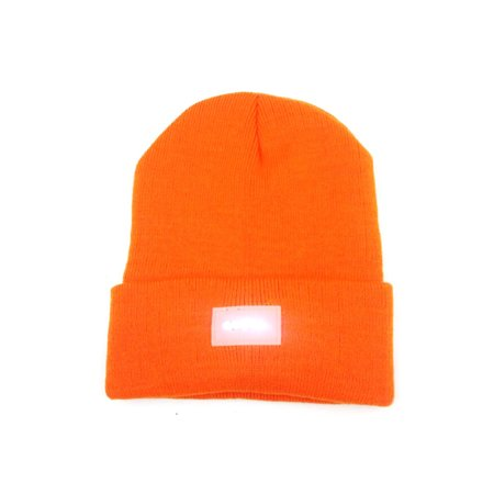 Multi-purpose Ultra Bright 5 LED Winter Warm Beanie Cap Unisex Cool Lighted Stocking Cap Kintted Hat Outdoor Flashlight Lamp for Camping Hiking Hunting Fishing Jogging Running