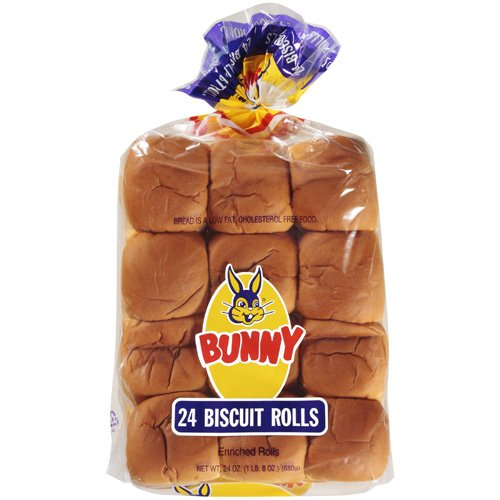 Bunny Enriched Biscuit Rolls, 24 ct, 24 oz