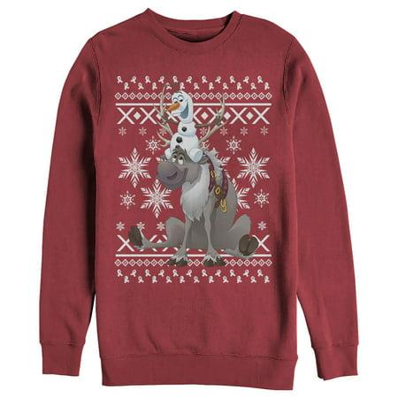Frozen Women's Ugly Christmas Sweater Friends Sweatshirt](Frozen Merchandise For Adults)
