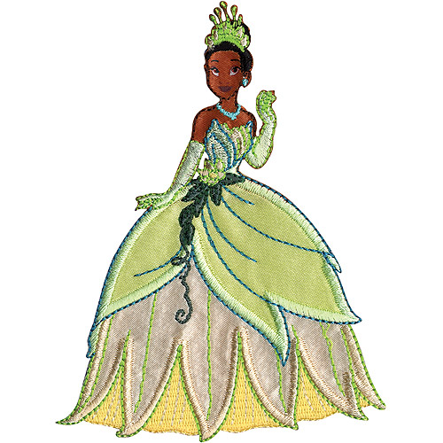 "Wrights Disney Iron-On Applique, 4-3/4"" x 3-3/4"", Princess"
