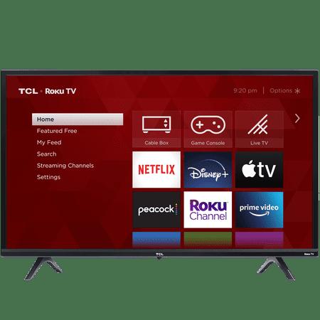 "TCL 32"" Class 3-Series 720P HD LED Roku Smart TV 32S335"