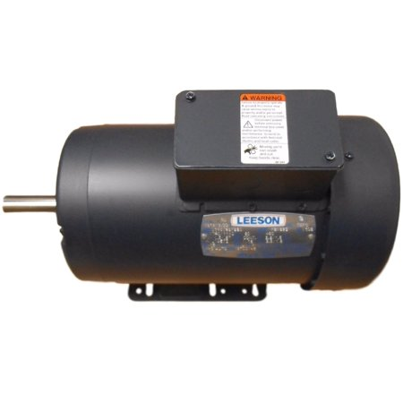 Leeson 1.5/0.67HP 460V 3PH Continuous Duty Electric Motor C145T46FB8D