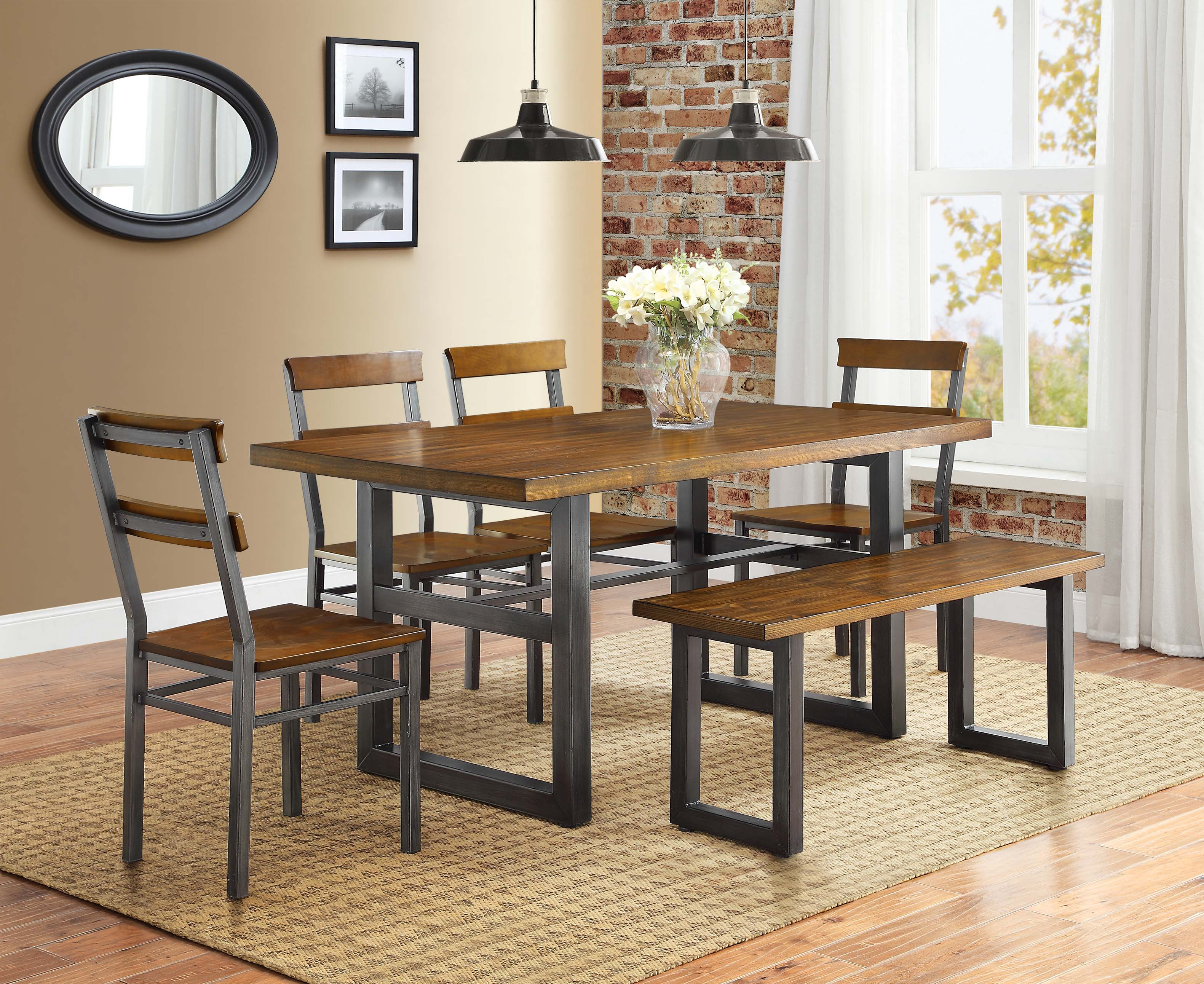 Better homes and gardens mercer collection - Better homes and gardens mercer dining table ...