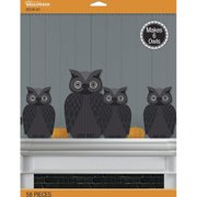 Jolee's Boutique 50-40573 Jolee's Spooky Owl 3D Decor Kit 58 pcs, Add fun and interest to any DIY home decor By Jolees Boutique