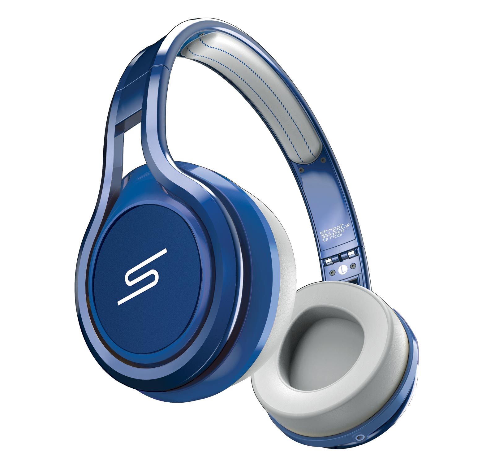 SMS Audio Street by 50 Cent Wired On-Ear Blue - Open Box Headphones