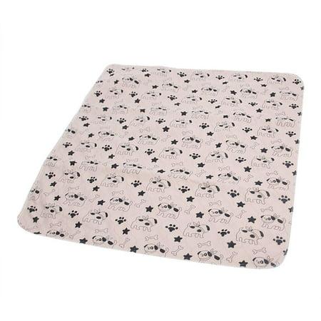 Ymiko 3 Sizes Reusable Waterproof Puppy Dog Cat Pee Bed Pad Carpet Urine Pet Trainging Mat , Dog Urine Mat, Waterproof Dog Pee (Best Way To Get Dog Pee Out Of Carpet)