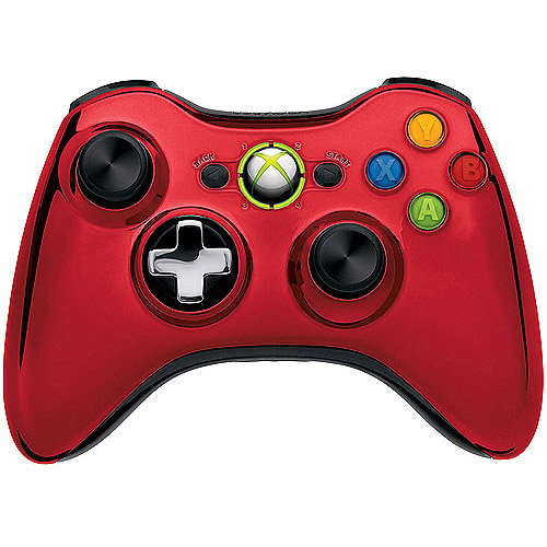 Microsoft Xbox 360 Special Edition Chrome Series Wireless Controller
