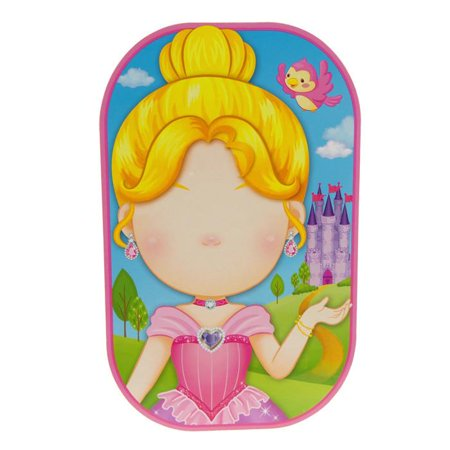 - Funny Faces Sticker Set 3D, Pretty Princess