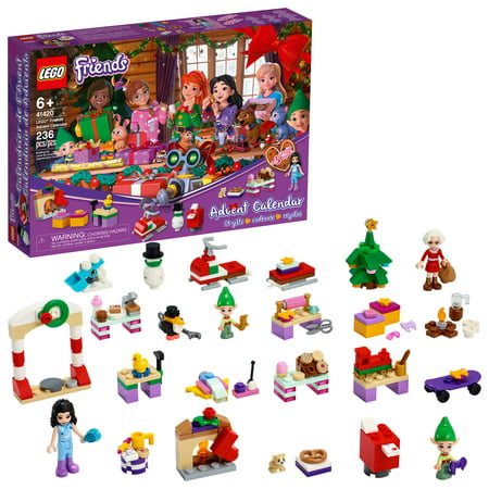2020 LEGO Friends Advent Calendar 41420 (236 Pieces) Now $19.97 (Was $30)