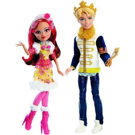 DLB38 Daring Charming and Rosabella Beauty Dolls, Epic Winter 2-Pack, ​In the Ever After High Netflix Original Series Epic Winter, Daring Charming and.., By Ever After High