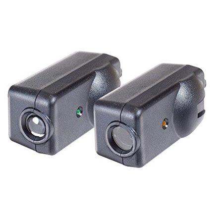 Garage Sensor (Chamberlain G801CB-P / LiftMaster / Craftsman Garage Door Opener Replacement Safety Sensors, Includes 2 Sensors, Mounting Brackets and Hardware)