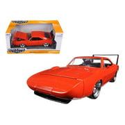 Jada 97682 1969 Dodge Charger Daytona Orange 1-24 Diecast Model Car