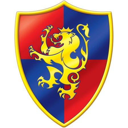Medieval Minecraft Inspired Crest Cutout 16