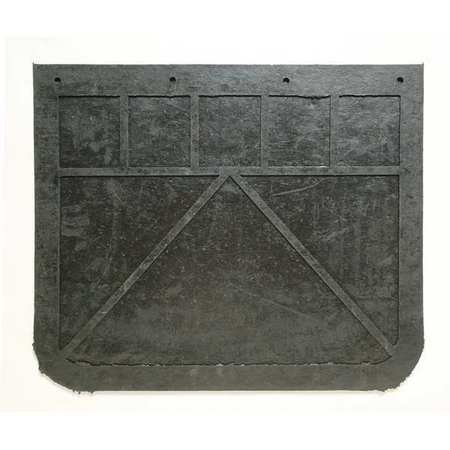 BUYERS PRODUCTS 3VUH6 PLAIN MUD FLAPS 24X 20IN