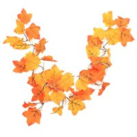 Maple Leaves String Lights Fall Garland Artificial Leaf Autumn Leaves String Garland