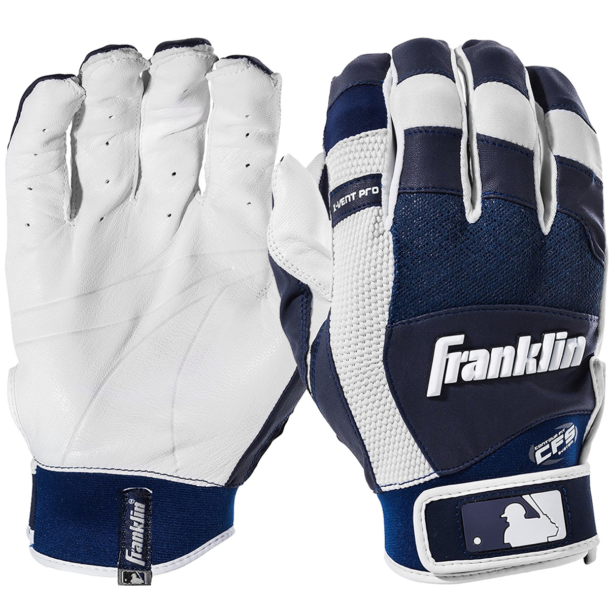 Franklin Sports MLB X-Vent Pro Batting Gloves by Franklin Sports