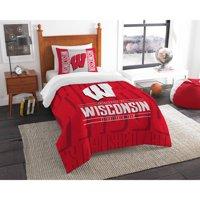 Product Image Ncaa Wisconsin Badgers Modern Take Bedding Comforter Set