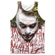 Dark Knight Joker Face (Front Back Print) Mens Sublimation Tank Top Shirt