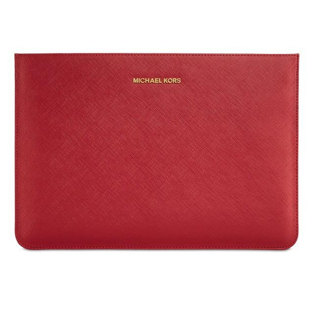 """Michael Kors Macbook Air 11"""" Sleeve - Red"""