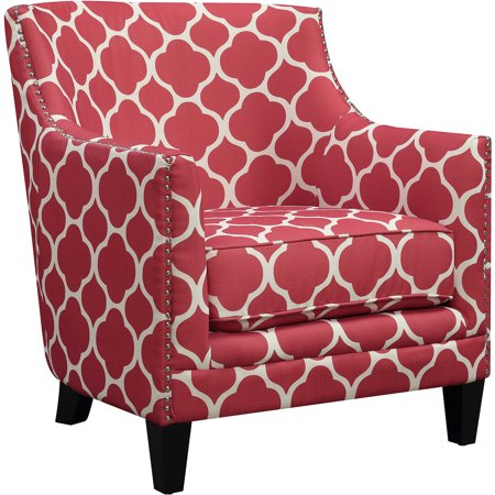 Miraculous Cambridge Nissi Accent Chair In Red Creativecarmelina Interior Chair Design Creativecarmelinacom
