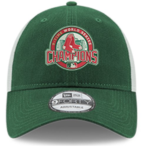3feccb9129e4a8 Boston Red Sox New Era 2018 World Series Champions Green Monster Trucker  9FORTY Adjustable Hat - Green - OSFA - Walmart.com
