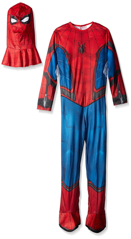 Medium Rubies Costume Spider-Man Homecoming Childs Costume Multicolor