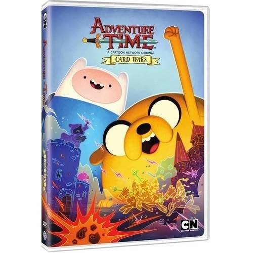 Cartoon Network: Adventure Time Card Wars (DVD) by Turner Home Entertainment