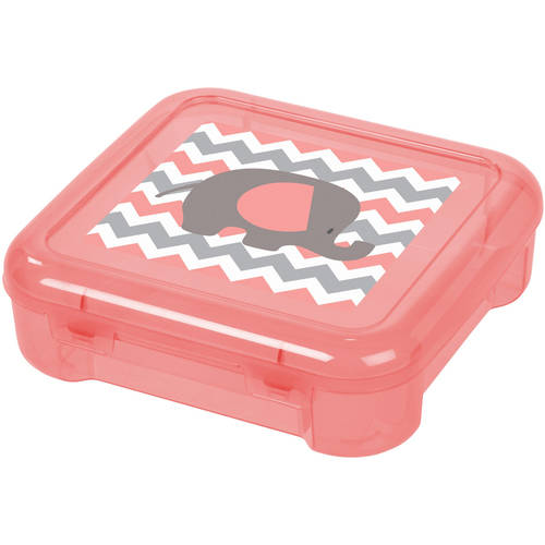 "6"" x 6"" Portable Project Case, Pack of 8, Pink"