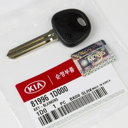 Genuine OEM Hyundai Kia Key Blank Uncut for 2007-2010 Kia Rondo 81996-1D000