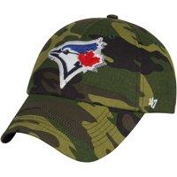 Toronto Blue Jays '47 Women's Rosita Clean Up Adjustable Hat - Camo - OSFA