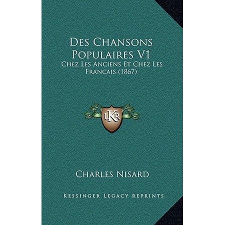 Des Chansons Populaires V1 : Chez Les Anciens Et Chez Les Francais (1867) - Chanson Halloween Francais