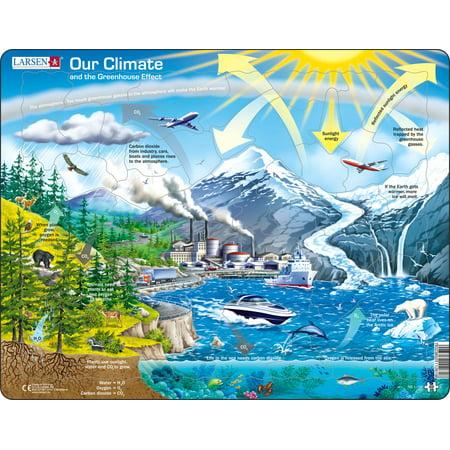 Larsen Climate Greenhouse 69 Piece Children's Educational Jigsaw Puzzle Burj Al Arab Puzzle
