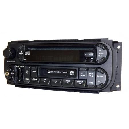 Jeep Ipod - 2002-2006 Jeep Chrysler Dodge RDS Radio AM FM CD CS iPod Aux In P05064042AB RAZ - Refurbished