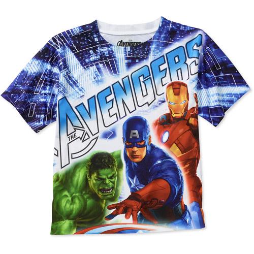 Marvel Boys Avengers Group Graphic Tee