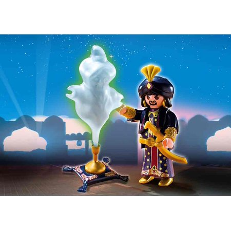 Magician with Genie Lamp](Genie Lamp)
