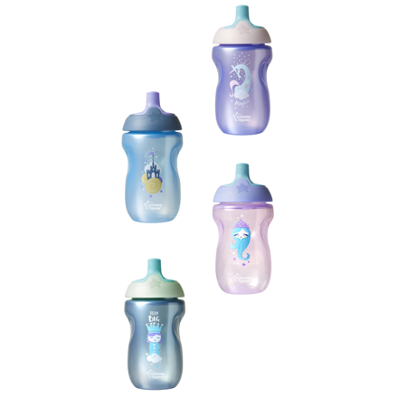 Tommee Tippee 10oz Sportee Bottle, 1pk (Colors May Vary)