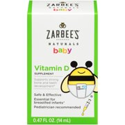 Best Bottle For Breastfed Babies - Zarbee's Naturals Baby Vitamin D Supplement, 0.47 fl Review