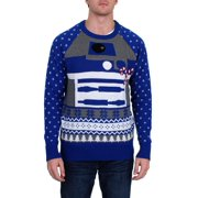 Star Wars Mens R2D2 Christmas Holiday Pullover Sweater