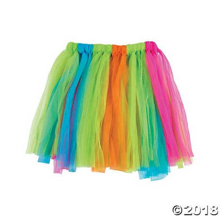 Kids Hula Skirt (Kids' Colorful Hula Skirt)