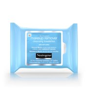(3 Pack) Neutrogena Makeup Remover Cleansing Towelettes & Face Wipes, 25 ct.