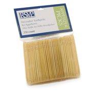 RSVP Refill Wooden Toothpicks For Willie Woodpecker Holder 250 Appetizer NJ-250