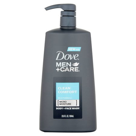 (2 Pack) Dove Men+Care Clean Comfort Body Wash Pump 23.5 oz