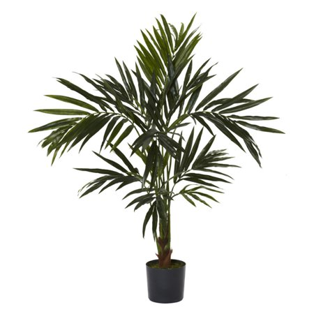 Nearly Natural Kentia Palm Silk Tree, 5 ft.
