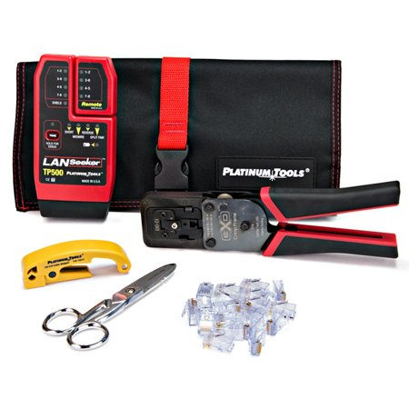 Platinum Tools - 90148 - Platinum Tools EXO ezEX-RJ45 Termination and Test Kit