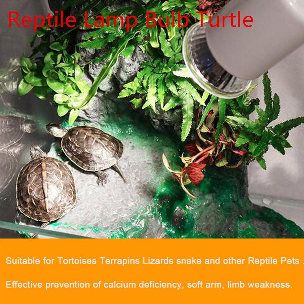 Uvb 3 0 Reptile Lamp Bulb Turtle Basking Uv Light Bulbs