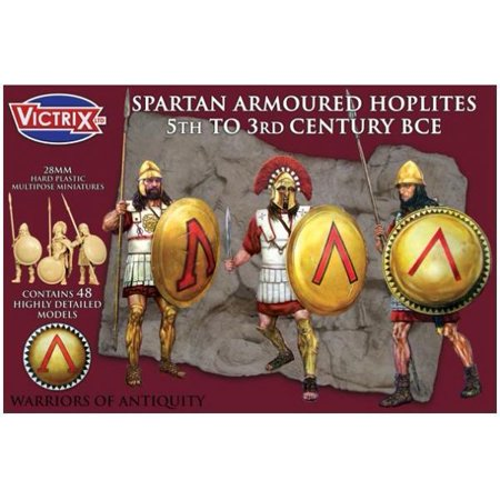 Spartan Armored Hoplites   5Th To 3Rd Bc New