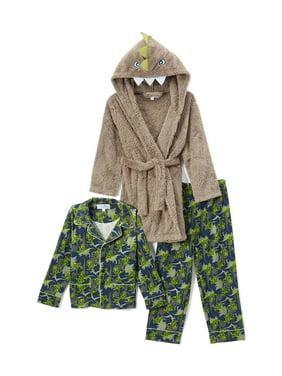 111385007 Brown Boys Pajamas   Robes - Walmart.com