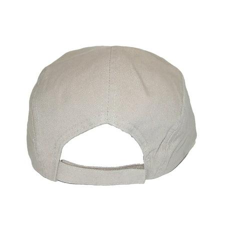 944ffea9a06e1 CTM Cotton Long 5 Inch Bill Visor Baseball Cap - image 1 of 3 ...
